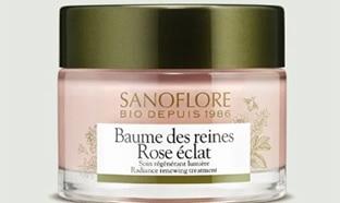 Echantillons gratuits du baume des reines Rose éclat Sanoflore