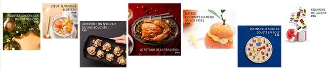 """Sommaire prospectus """"Il était une fois Noël"""" Lidl"""