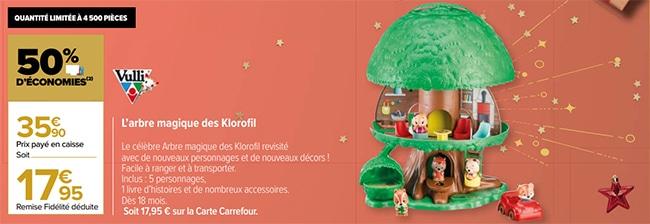 Arbre magique Klorofil de Vulli à moindres frais chez Carrefour