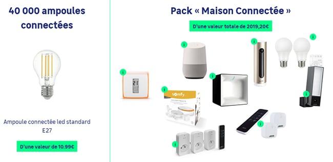 Tentez de remporter un pack maison connectée Enki ou une ampoule connectée avec Leroy Merlin
