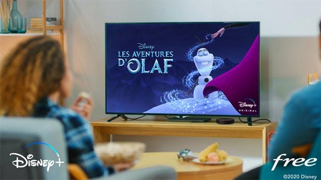 Offre d'essai gratuite à Disney Plus pour certains abonnés Free