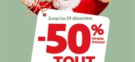 Promo GiFi : -50% en bon d'achat sur tout le magasin