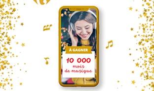 Jeu Carrefour : lots Universal Music à gagner