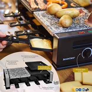 Lidl : Raclette-gril SilverCrest pas cher à 24,99€