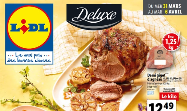 Catalogue Lidl Deluxe du 31 mars 2021 au 6 avril 2021