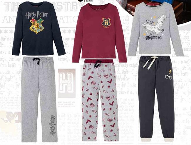 Pyjama enfant Harry Potter à petit prix