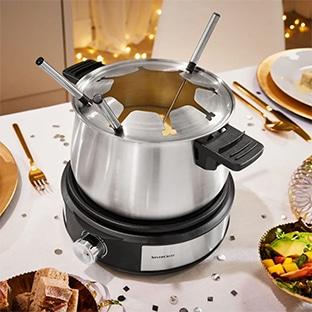 Lidl : Service à fondue électrique SilverCrest pas cher à 23,99€