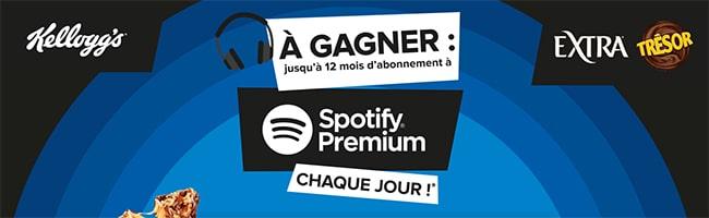 Tentez de gagner un abonnement à Spotify Premium d'un an