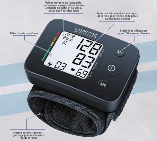 Tensiomètre de poignet à petit prix chez Lidl