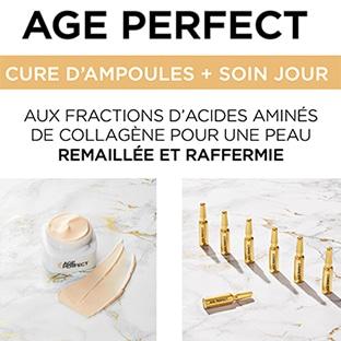 Test L'Oréal : routines Age Perfect Expert Collagène gratuites