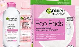 Test TRND : routines Eco Pads + eau micellaire Garnier gratuites