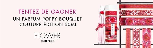 remportez l'édition Couture Poppy Bouquet de Flower by Kenzo