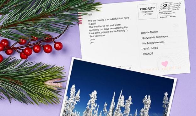 LALALAB : 2 cartes postales photo gratuites + livraisons offertes