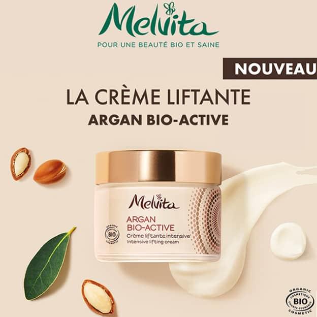 Échantillon gratuit de la crème Argan Bio-Active de Melvita