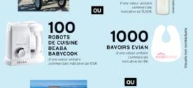 Jeu Intermarché / Evian instants gagnants : 1558 lots à gagner