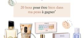 Jeu Beauty Success : boxs beauté à gagner