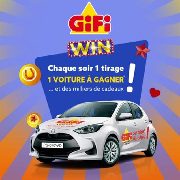 GiFi Win : Application de loterie à code