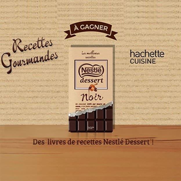 Jeu Nestlé Dessert : livres simplissime à gagner
