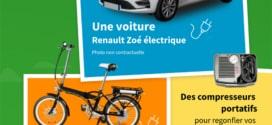 Jeu Steer : Renault Zoé et autres cadeaux à gagner