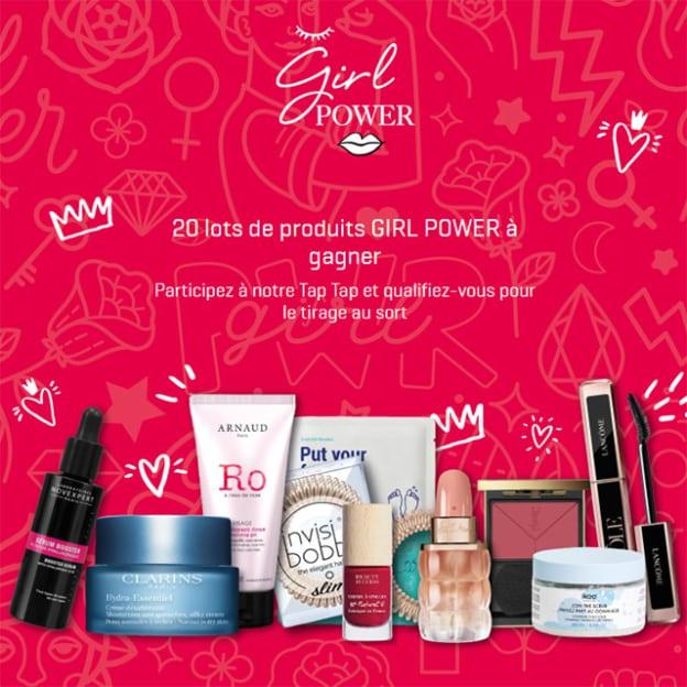 Jeu Beauty Success : 20 box de 10 produits de beauté à gagner