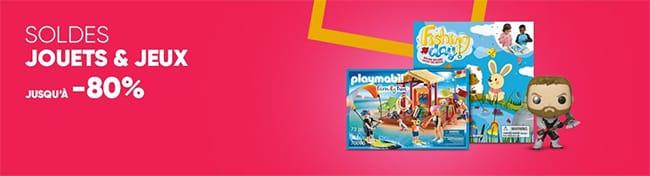 Funko Pop, Playmobil, Lego, Barbie et bien d'autres en solde sur Fnac.com