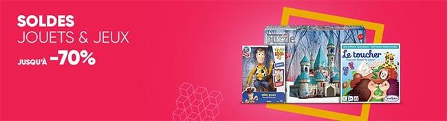 Funko Pop, Playmobil, Lego, Barbie et bien d'autre en solde sur Fnac.com