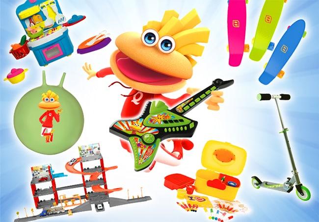 Remportez un jouet pour enfant avec le jeu « Bons Plans Family » de Quick