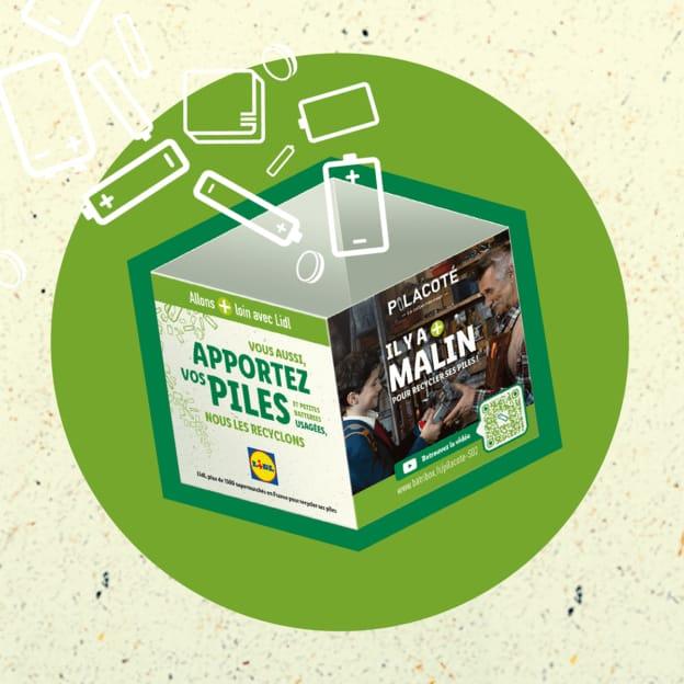 Lidl & Batribox : Boîtes à piles et batteries usées gratuites
