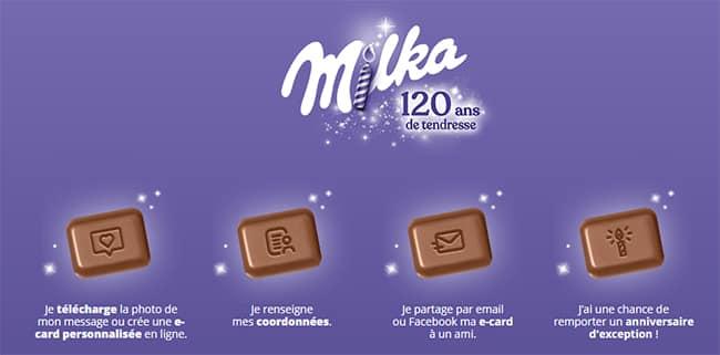 Comment prendre part au concours avec sa tablette de chocolat « Tendre Message » ?