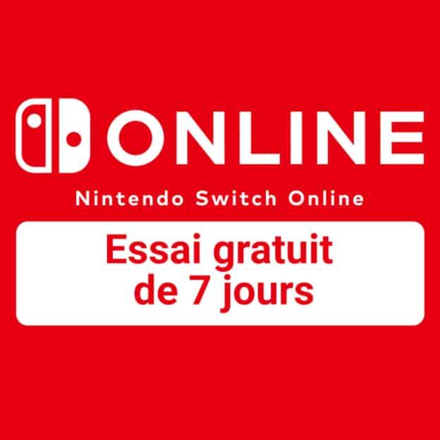 Nintendo Switch Online gratuit : offert d'essai