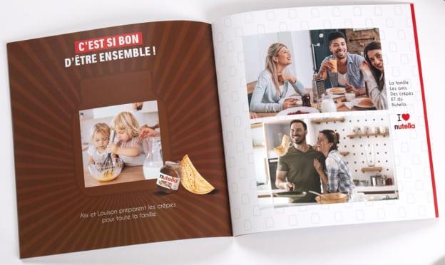 Nutella C'est si bon d'être ensemble : livres photos offerts