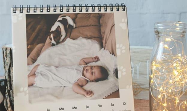 Photoweb : Calendrier photo de bureau gratuit (hors livraison)