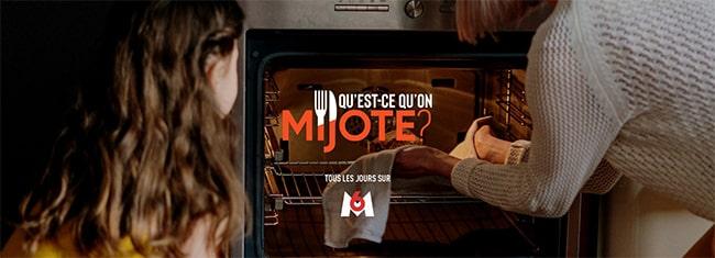 """émission """"Qu'est-ce qu'on mijote"""" sur M6 et W9"""