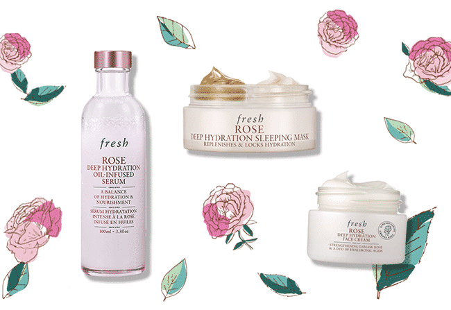 Packs de cosmétiques Fresh offerts avec Sampleo
