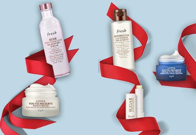 Packs de cosmétiques Fresh offert avec Sampleo