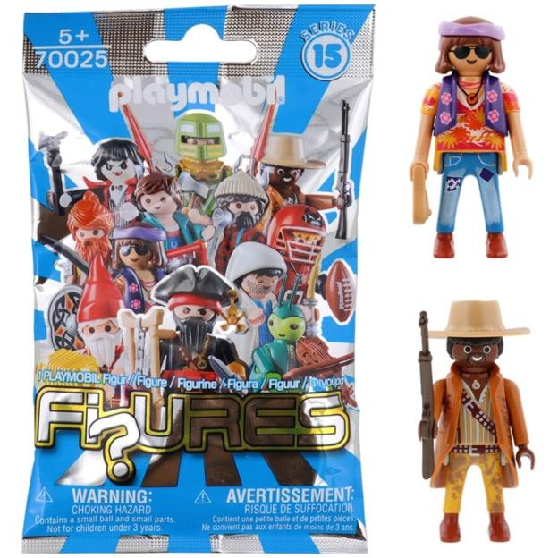 sachet figurine playmobil action