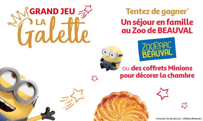 Gagnez un séjour au Zoo de Beauval ou un coffret Minions avec Auchan