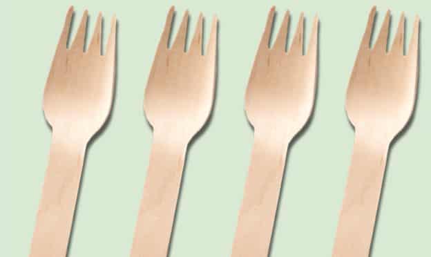 Sodebo : Kits de 5 fourchettes en bois biodégradables gratuits