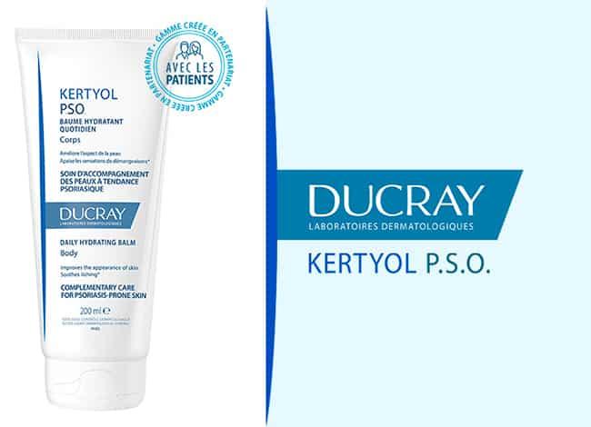 Testez gratuitement le baume hydratant Kertyol P.S.O Ducray avec Sampleo