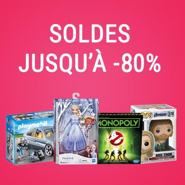 Soldes FNAC : Jusqu'à 80% de remise sur les jeux et jouets