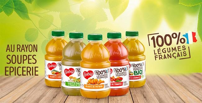 Testez gratuitement les soupes en bouteilles Liebig avec Sampleo