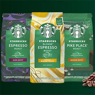 Test Starbucks packs de café en grains gratuits