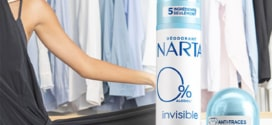 Test Narta : déodorants Invisible 0% gratuits