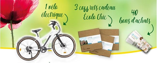 Gagnez un vélo électrique, un séjour Ecolo Chic ou un bon d'achat Léa Nature