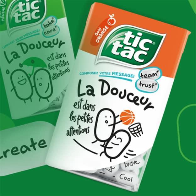 Une Petite Attention Tic Tac sur unepetiteattention.tictac.com