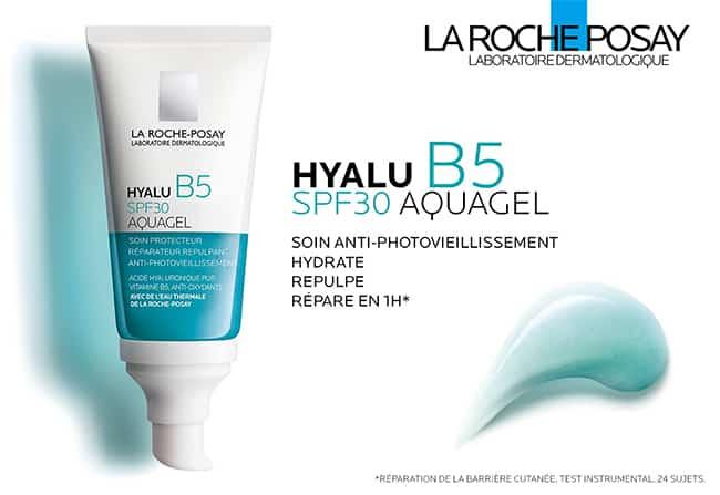 Testez l'Aquagel Hyalu B5 La Roche-Posay avec Sampleo