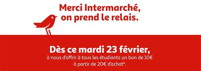 Obtenez un bon Auchan de 10€ dès 20€ d'achat