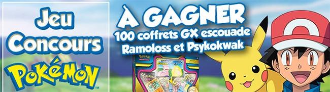 Remportez un coffret GX de cartes Pokémon avec Maxi Toys