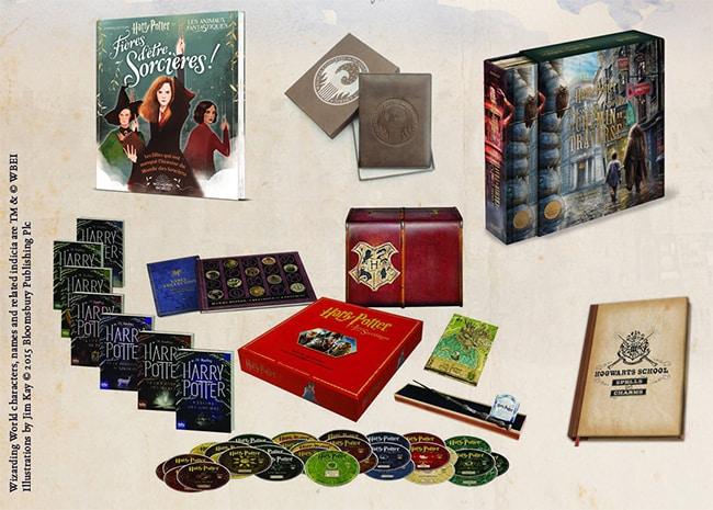 cadeaux à gagner avec La Nuit des livres Harry Potter