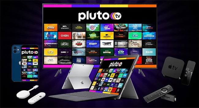 cadeaux à gagner avec Pluto TV